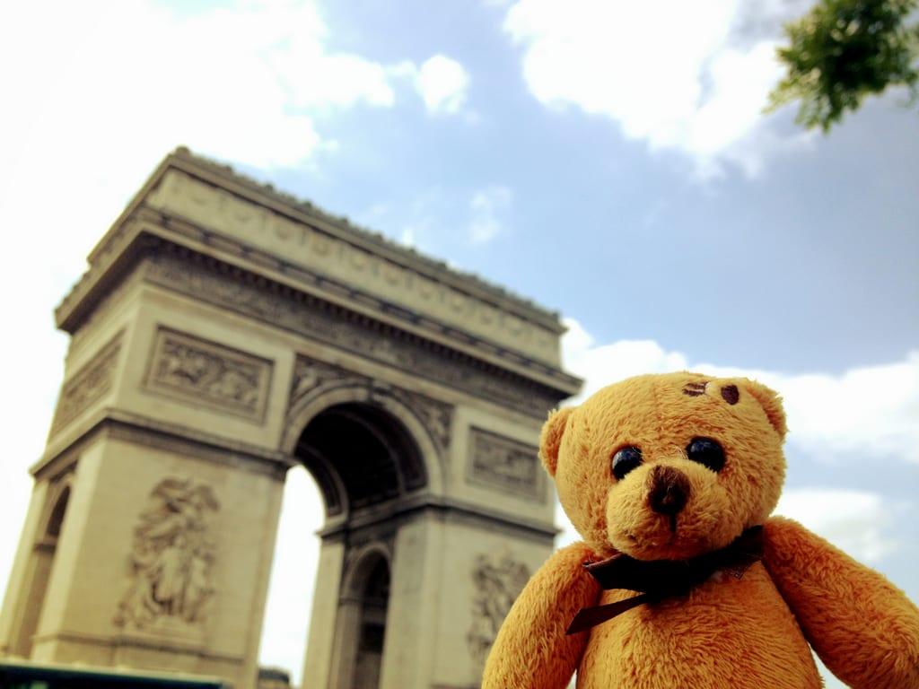 Berlin Bear in Paris