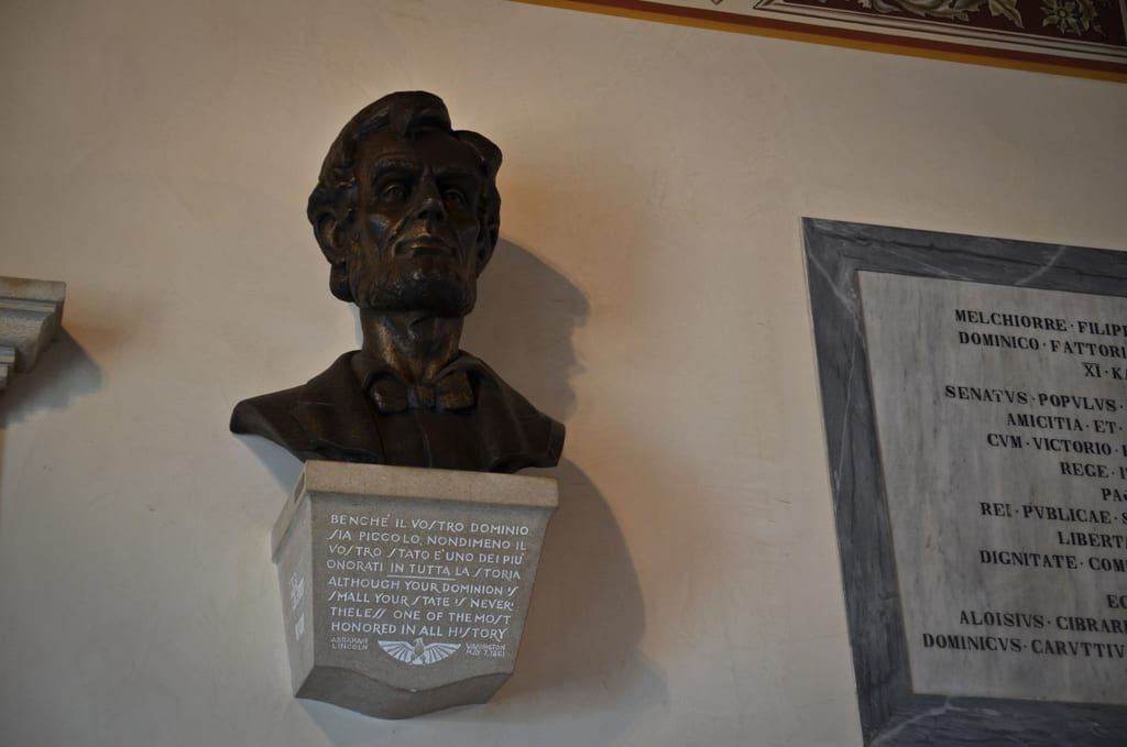 Abraham Lincoln in San Marino