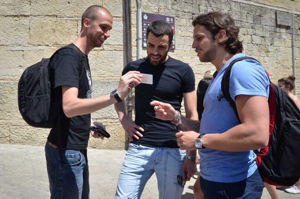 Mario, Aldo, and Nick