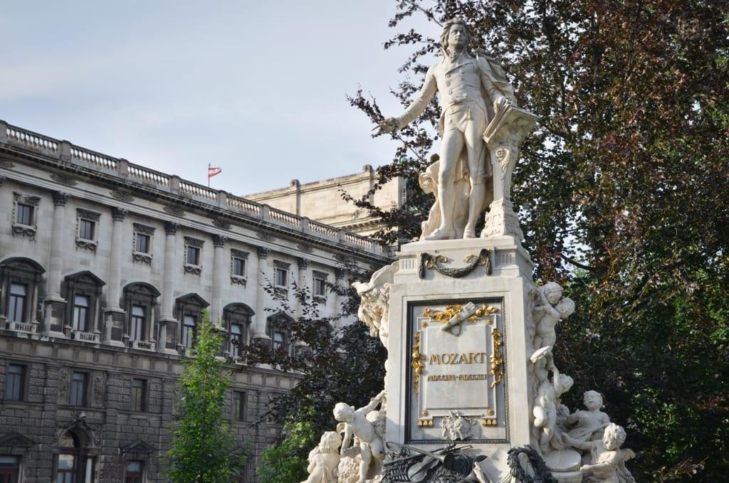 Mozart Statue, Vienna