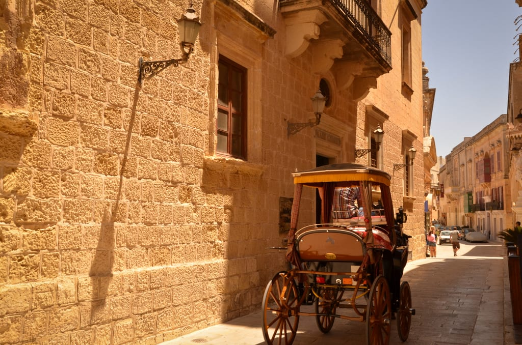 Carrozin in Mdina