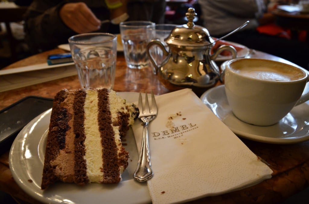 Coffee and Cake at Cafe Demel