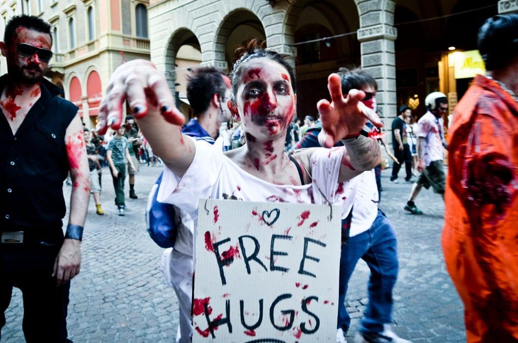 Free Hugs Zombie Parade