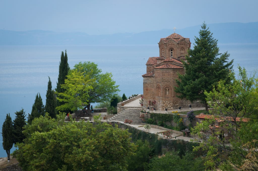 Sveti Jovan, Lake Ohrid, Macedonia