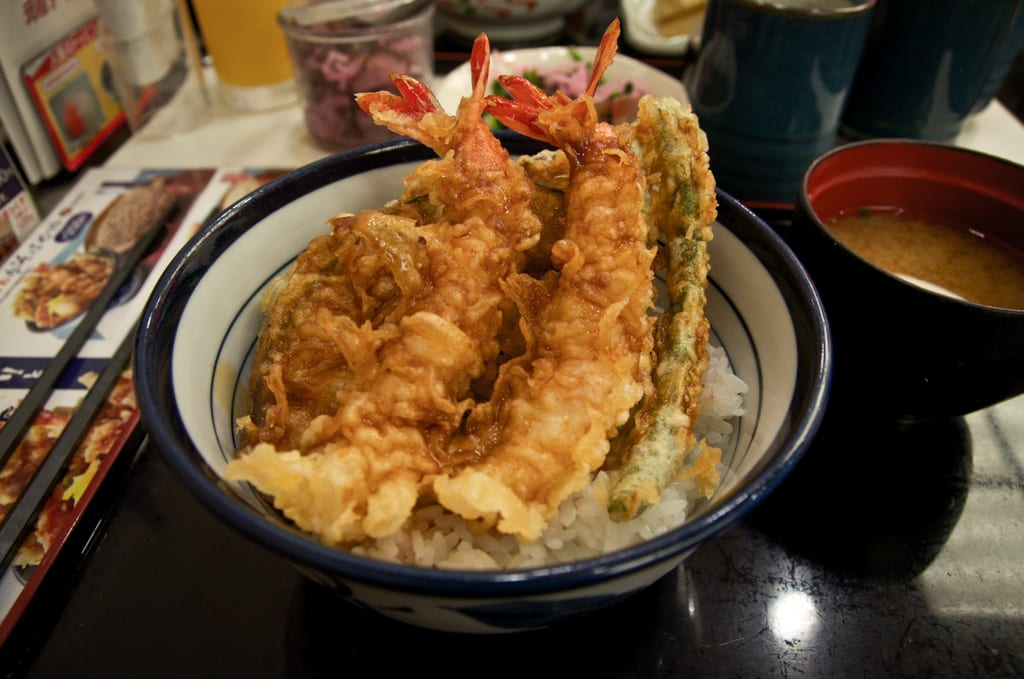 Tendon (Tempura Bowl)