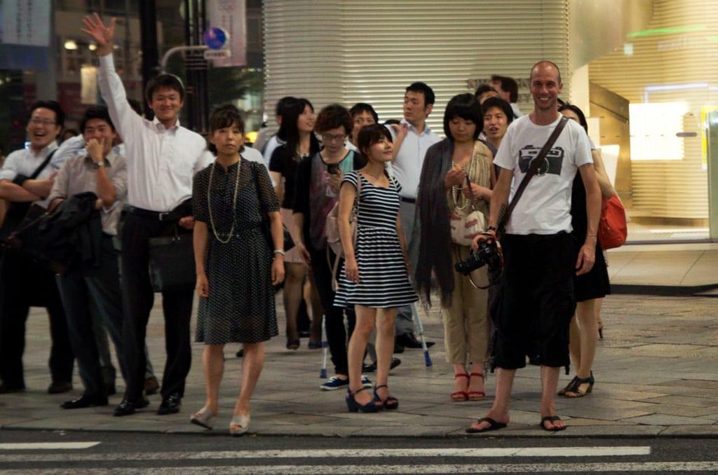 Japanese Photobomb