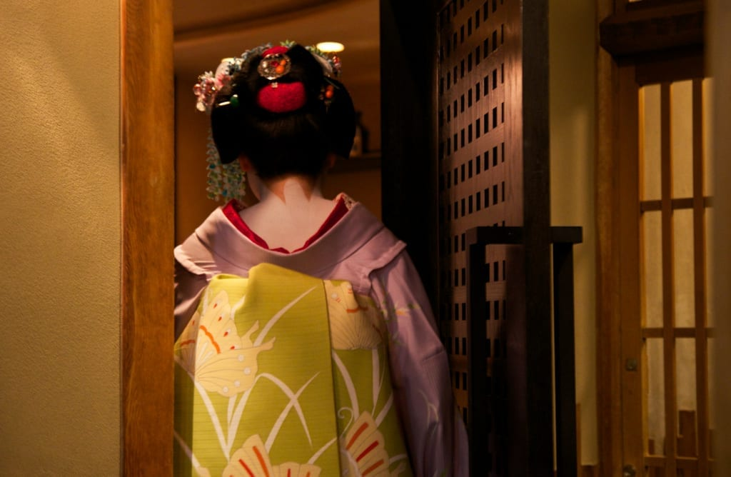 Maiko Sighting in Kyoto