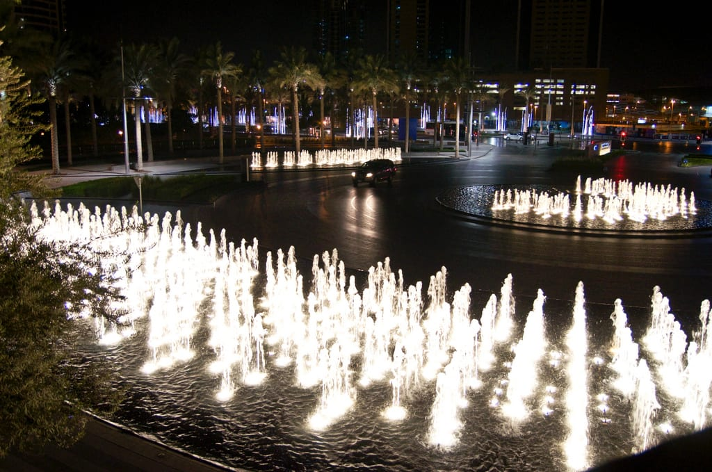 Burj Khalifa Fountains