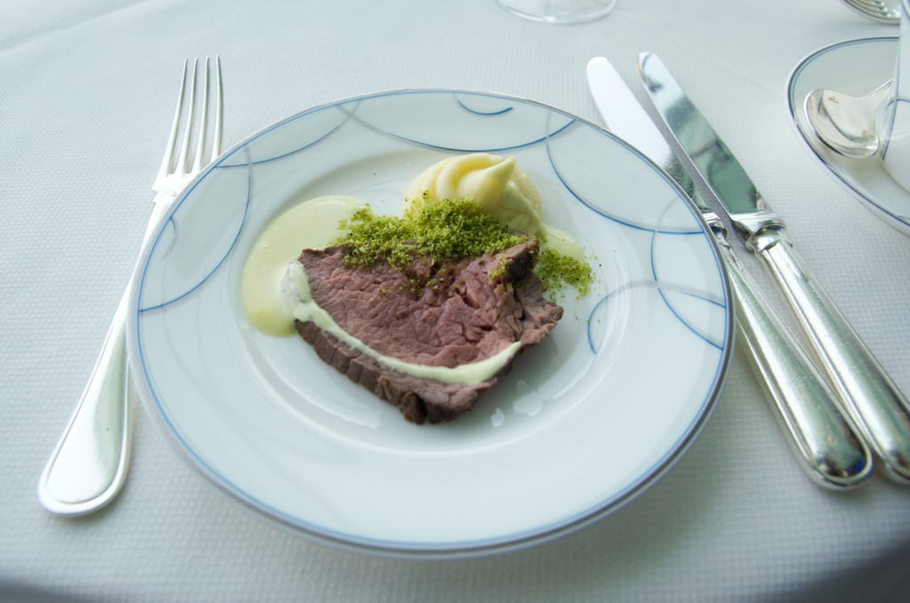 Burj al Arab Afternoon Tea: Roast Beef