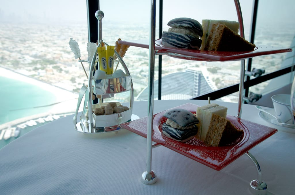 Afternoon Tea Burj al Arab Sandwiches