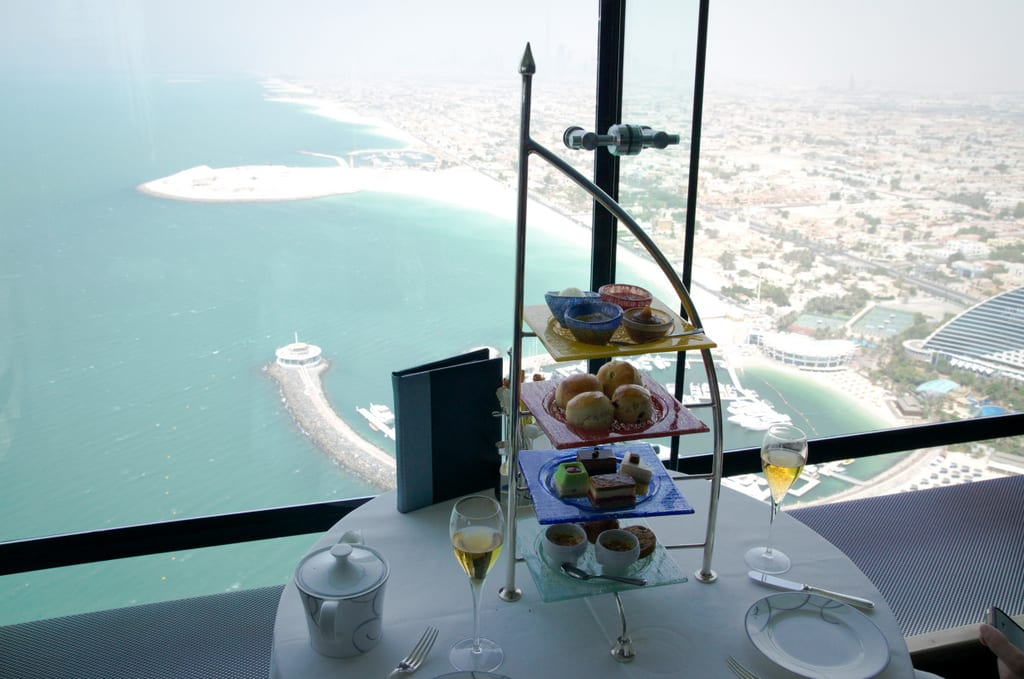 Afternoon Tea Burj al Arab Cakes