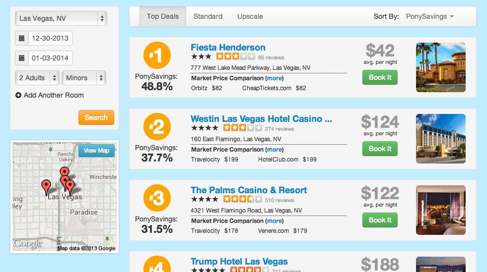 TravelPony Las Vegas