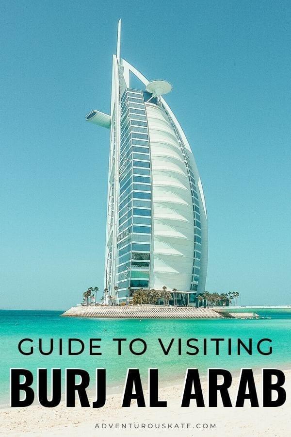 Visiting Burj al Arab in the UAE - Adventurous Kate