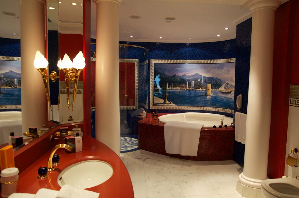 bathroom of the Burj al Arab