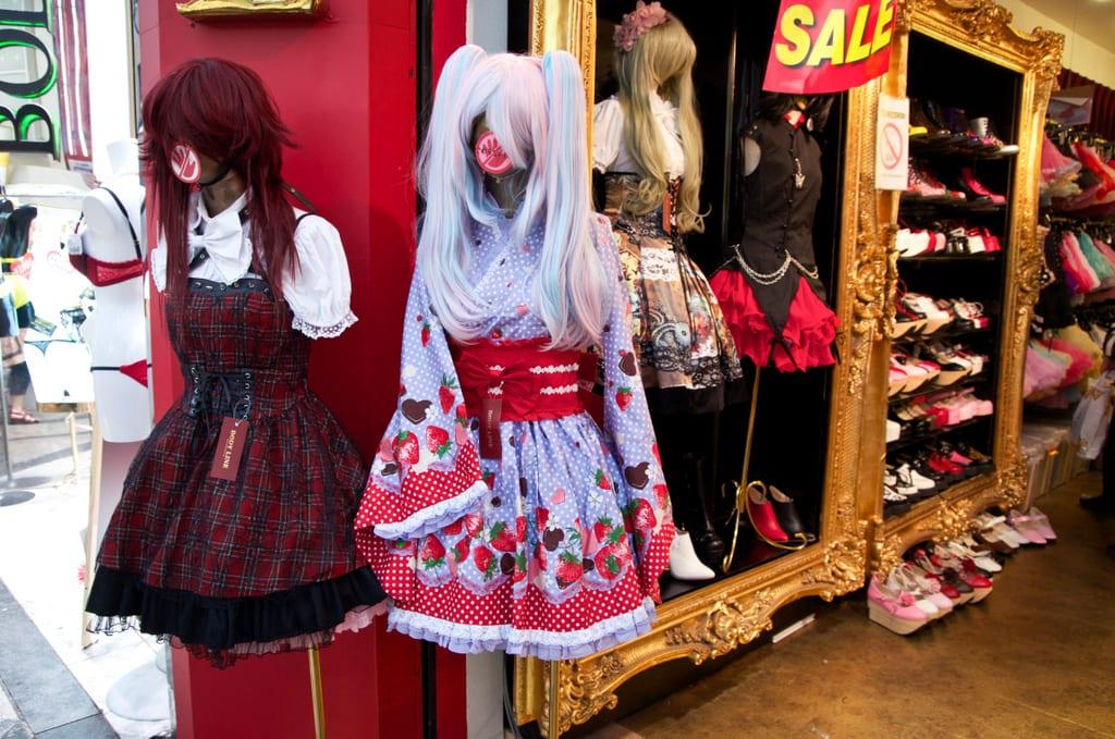 Osaka Crazy Outfits