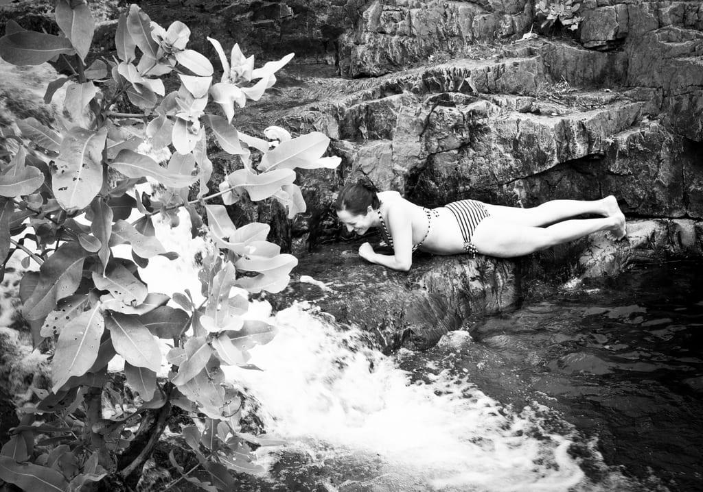 Kate at Buley Rockhole