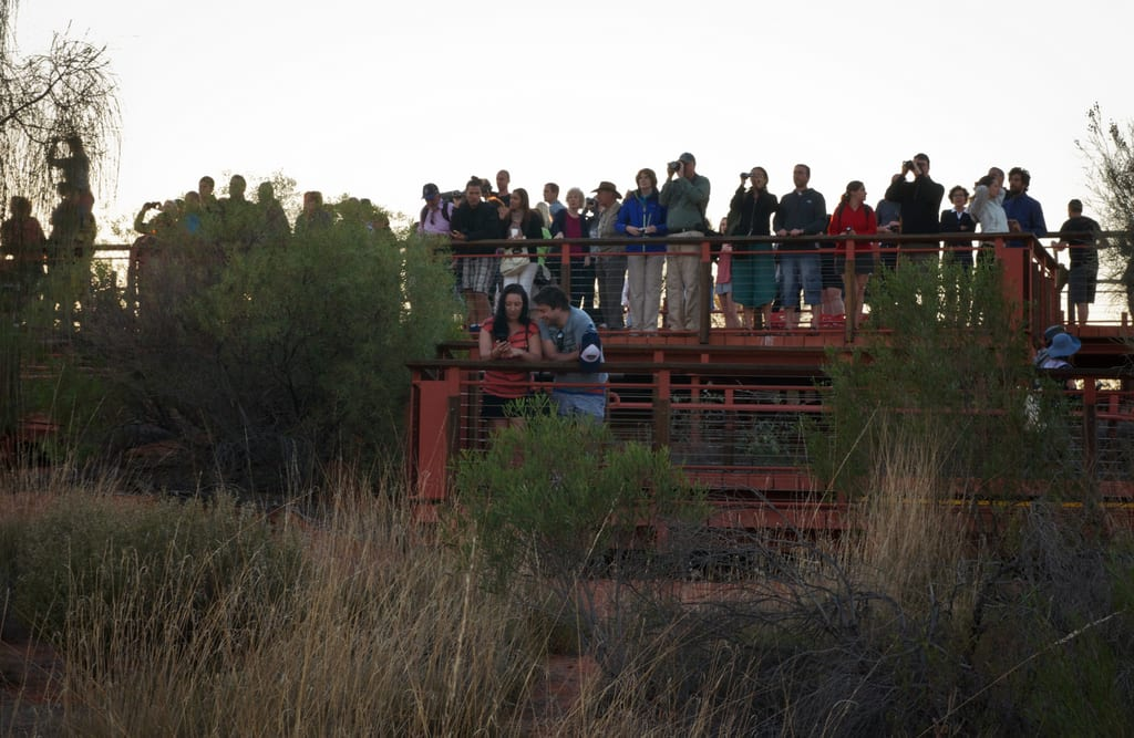 Uluru Crowds