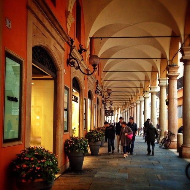 Modena's Porticoes