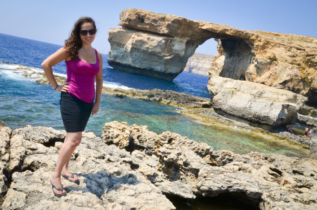Kate in Gozo