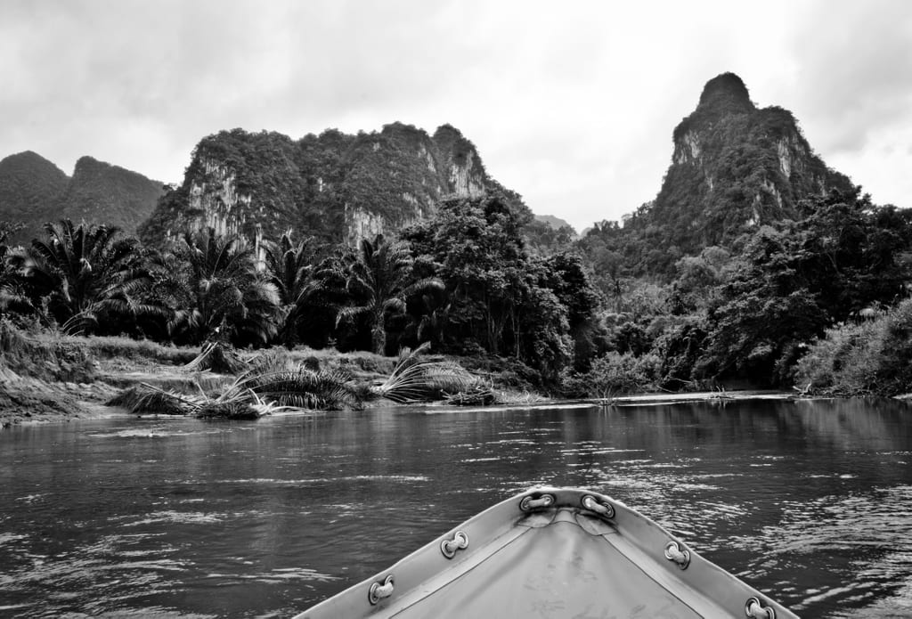 Khao Sok in Black and White