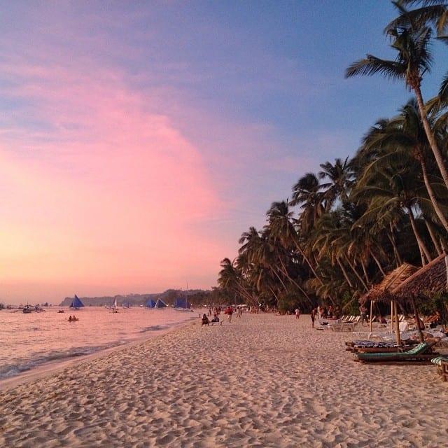 Boracay Pink Sunset