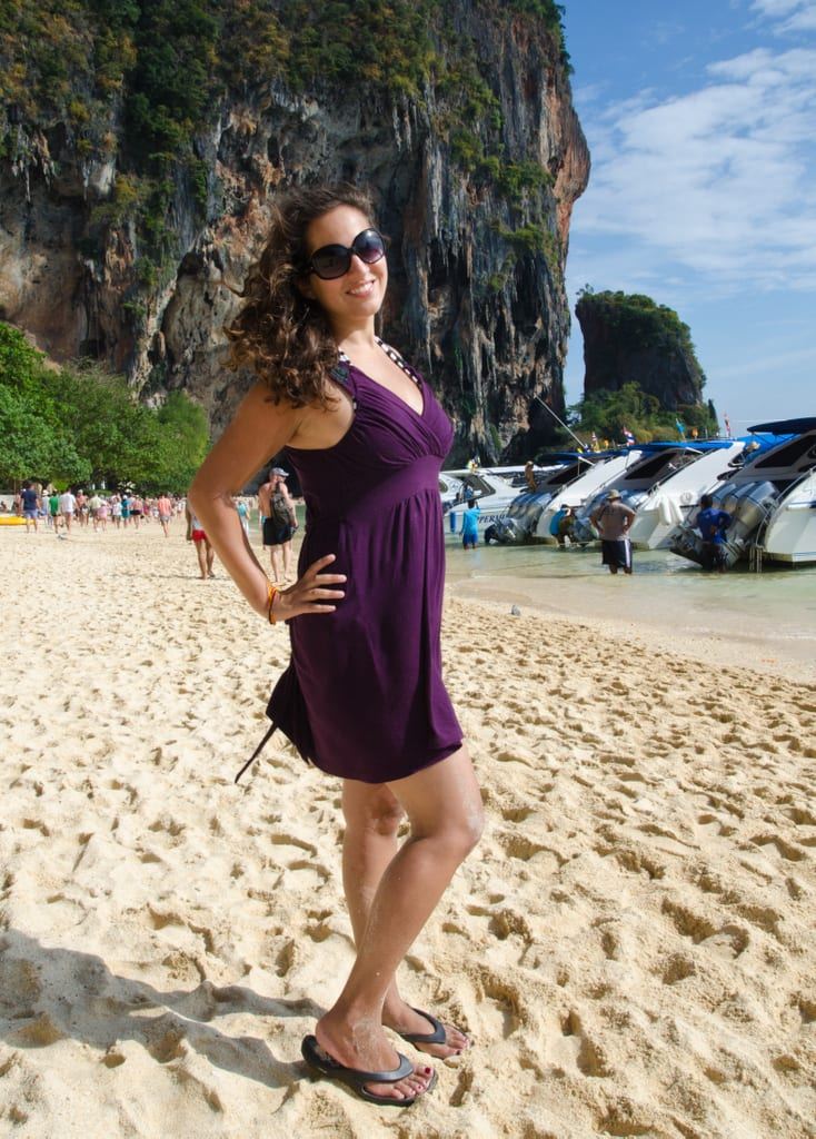 Kate in Railay
