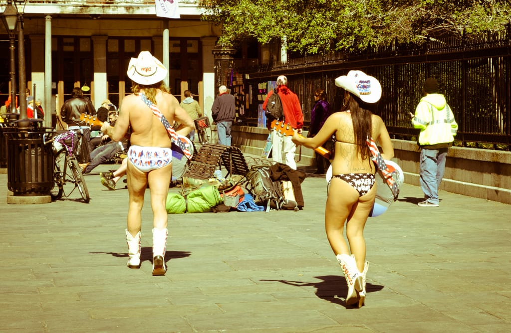 Naked Cowboy, Naked Cowgirl