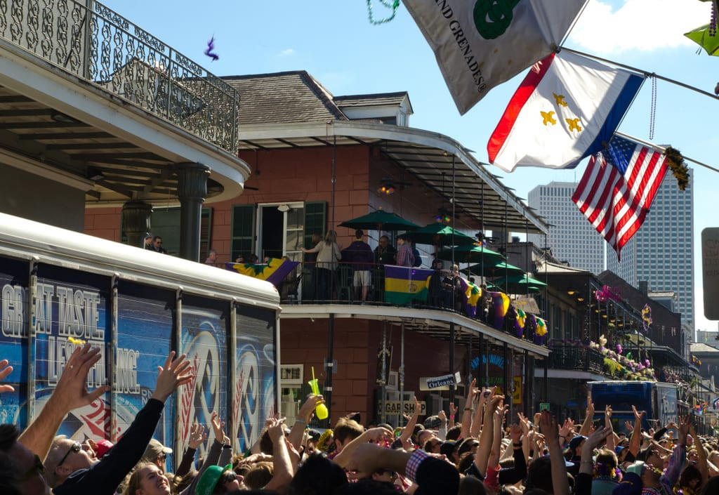 French Quarter Mardi Gras