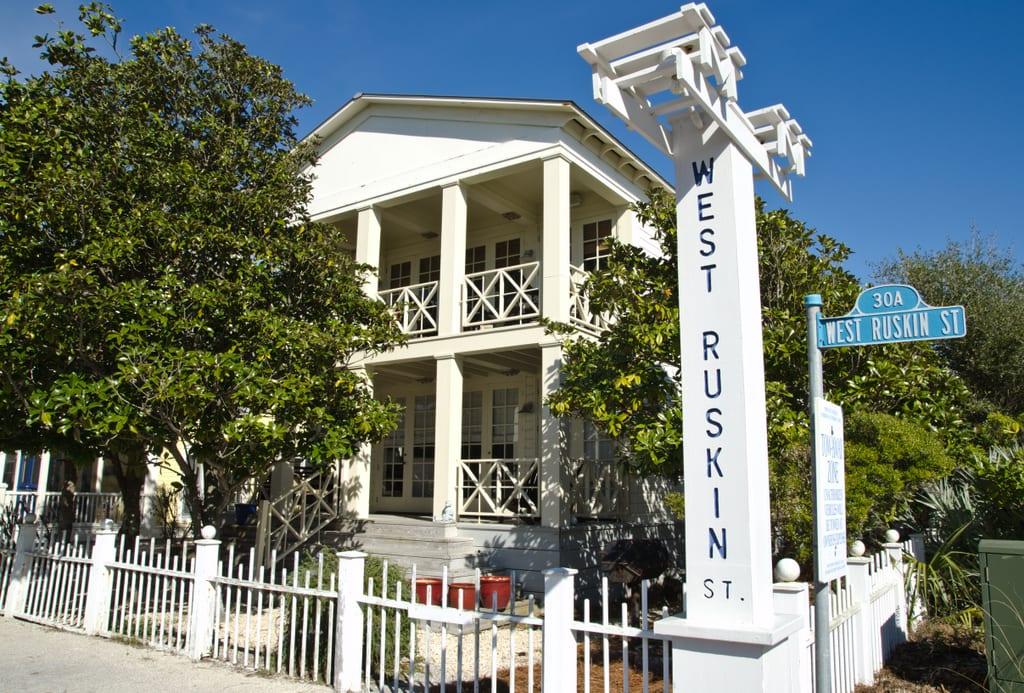 Seaside Florida Trumans Pastel Universe on Neoclassical Home Designs