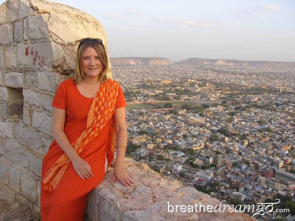 Mariellen, Tiger Fort, India