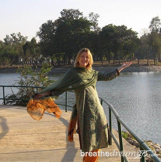 Mariellen, Karnal Lake, India