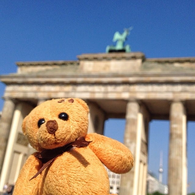 Berlin Bear Brandenberg Gate