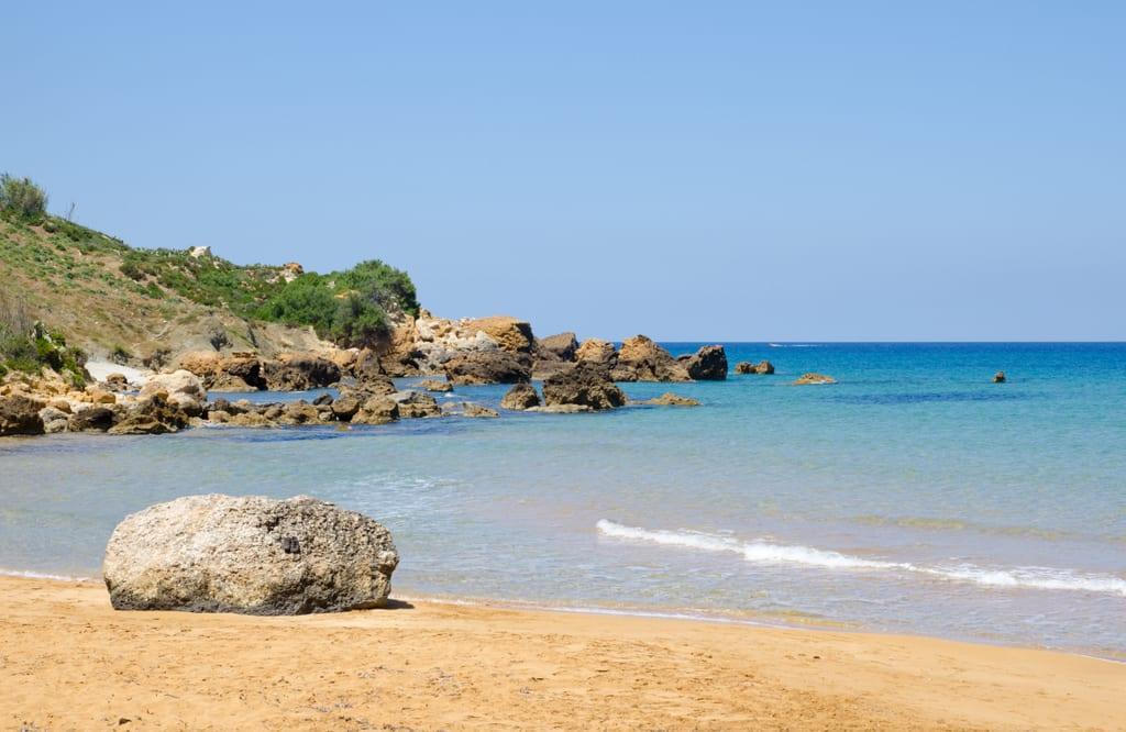 San Blas Bay, Gozo, Malta