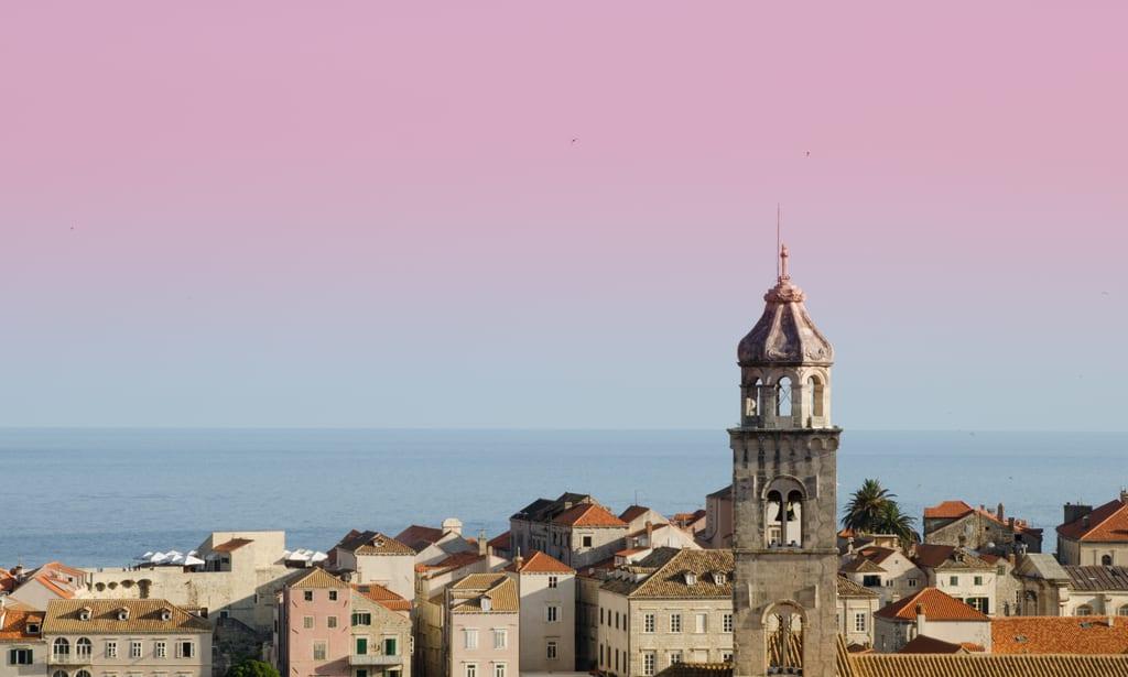 Pink Dubrovnik Sky