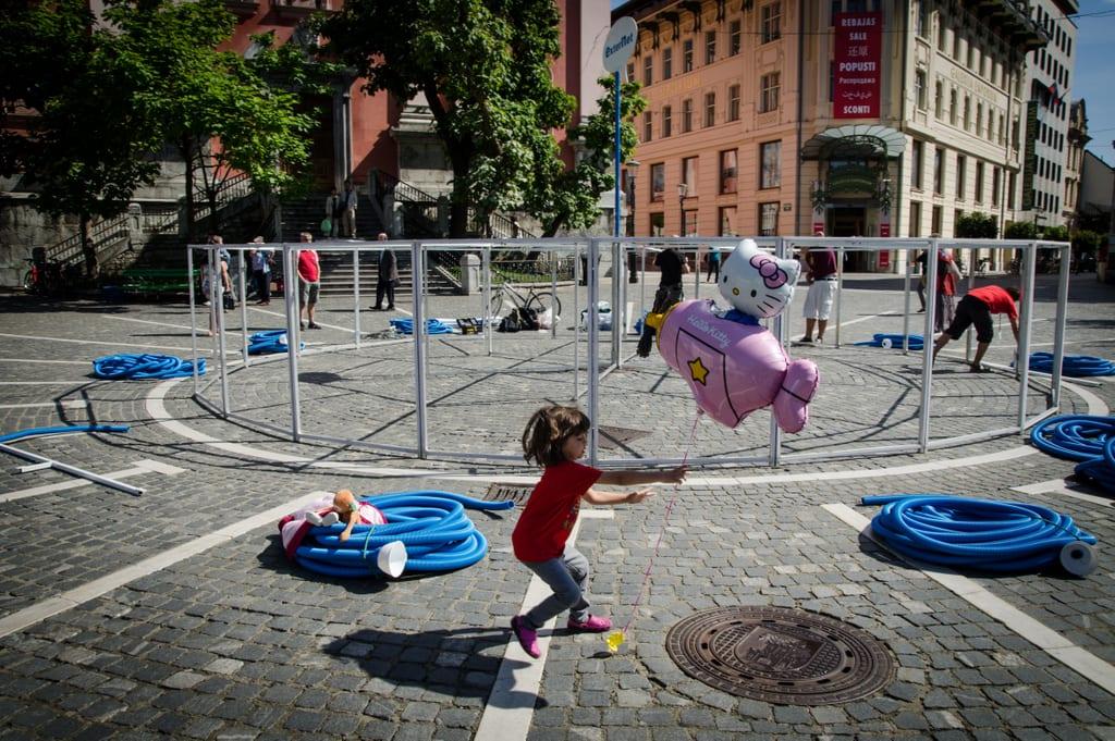 Ljubljana Little Girl