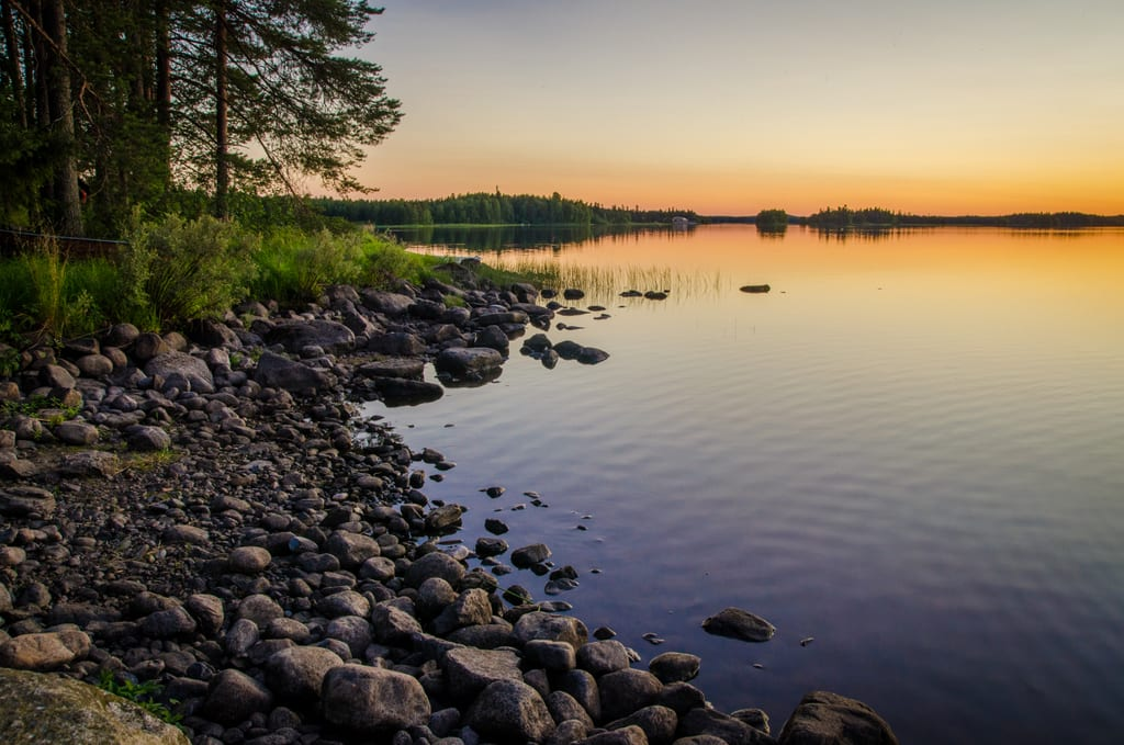 Midnight Sun in Kuhmo