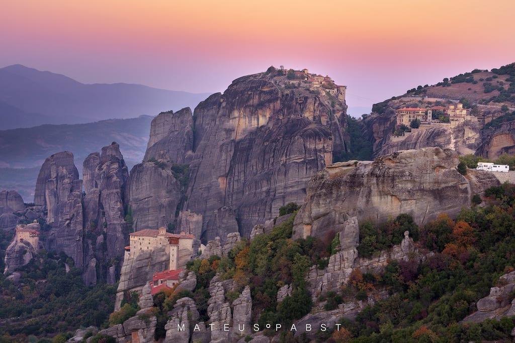 Quatro Mosteiros -  Four Monasteries - Meteora
