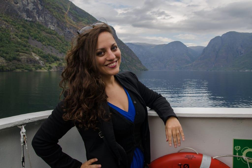Kate at Norway Fjords