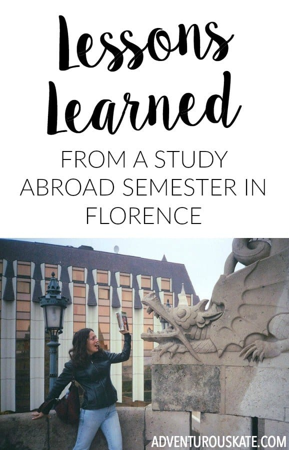 Studying abroad is one of the best decisions I ever made and by far the best thing I did in college. It was the catalyst that led me to a life of travel, and I think part of me knew that.  At the same time, I look back and I am appalled by some of the experience. Here's a retrospective of my first long-term travel experience, in a time before smartphones and wifi.