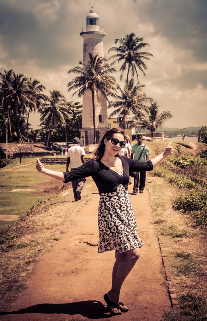 Kate in Galle