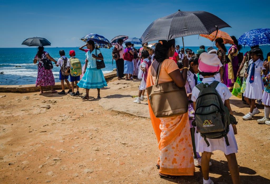 Sri Lankan Women in Galle