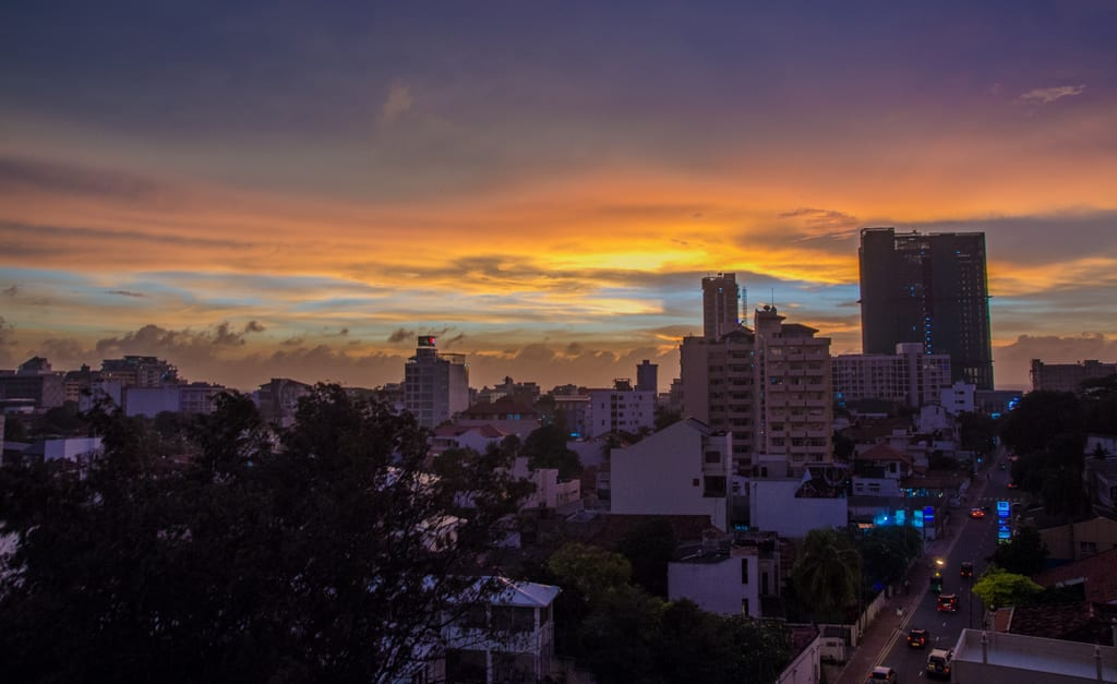 Colombo Sunset