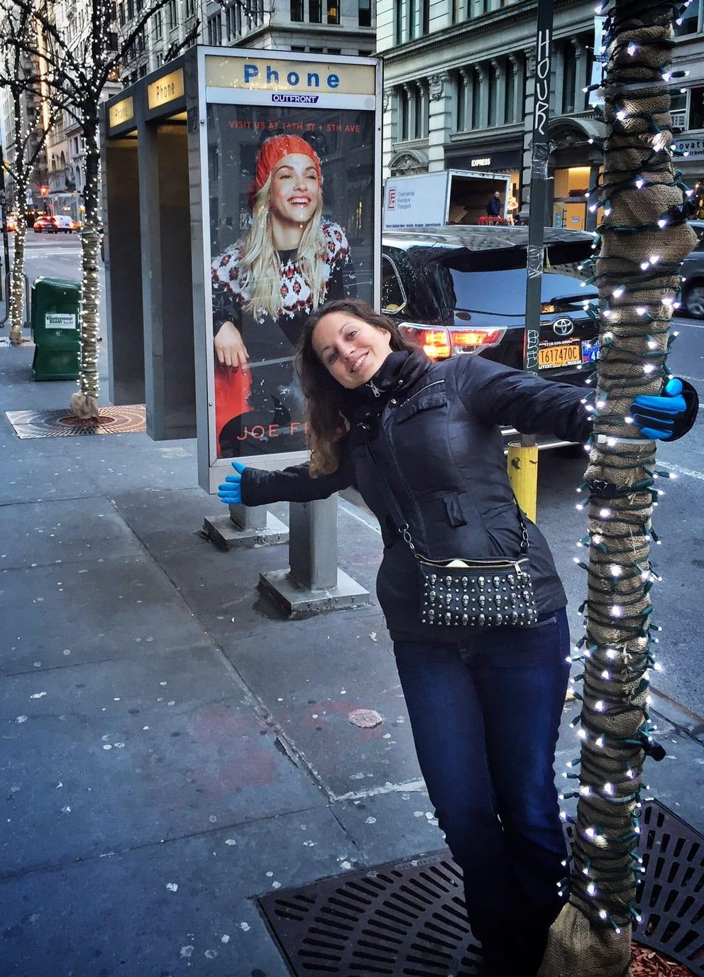 Kate in New York