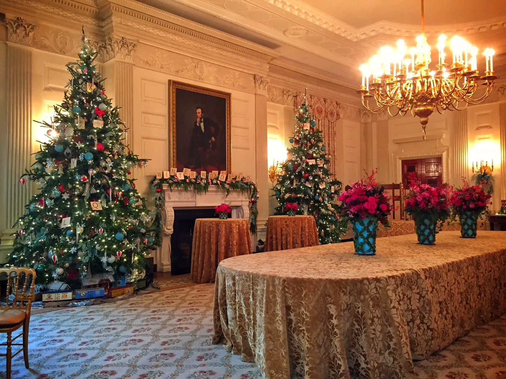 White house christmas ornaments by year - White House At Christmas