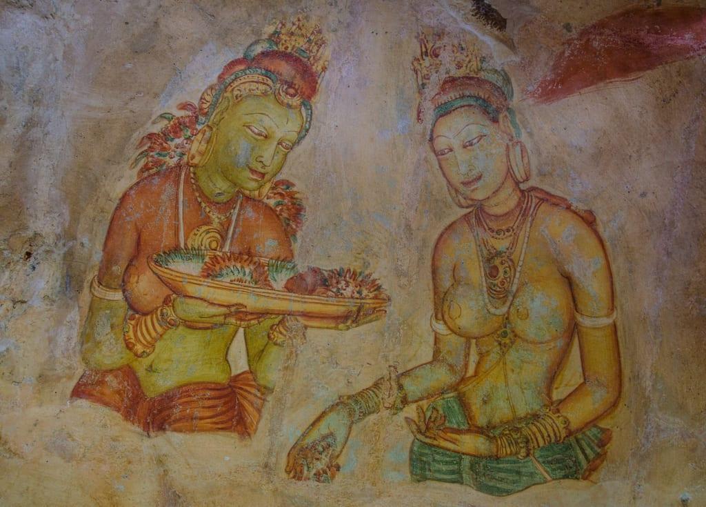 Sigiriya Maidens of the Rock
