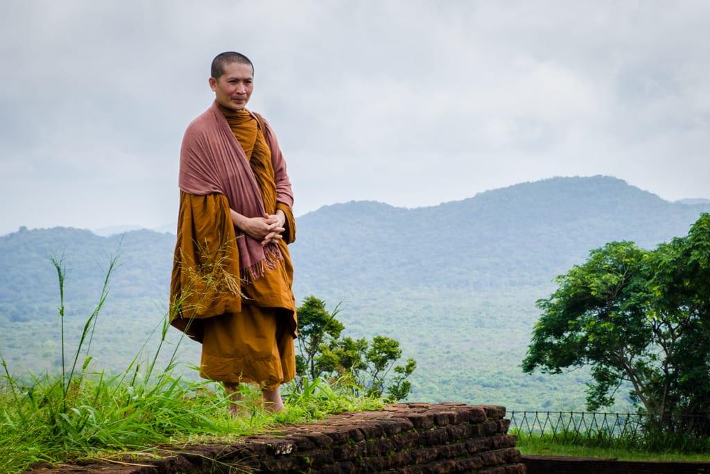 Sigiriya Monk