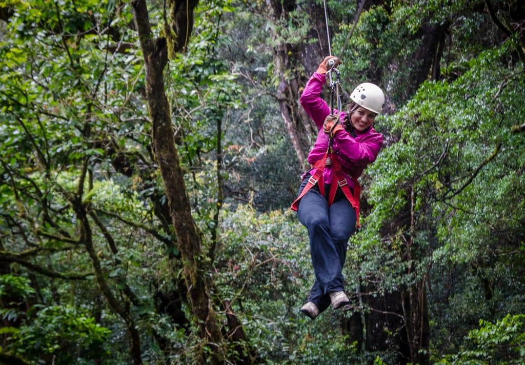 Kate Ziplining Monteverde
