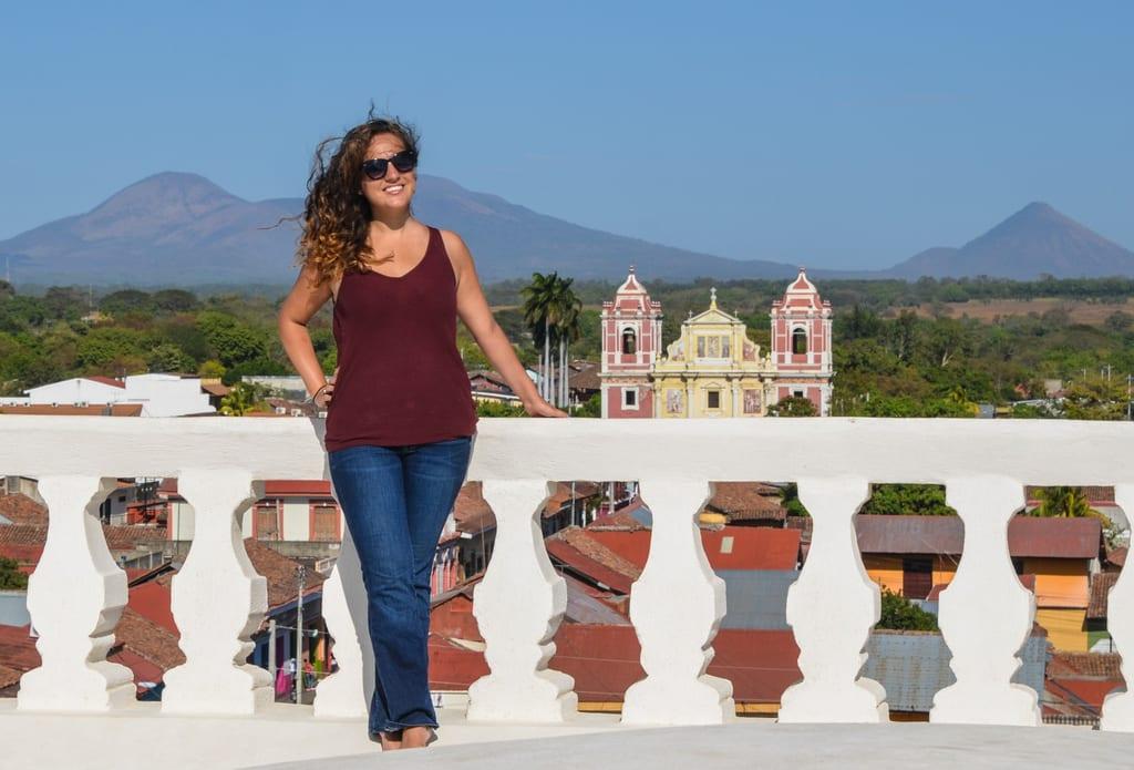 Kate in Leon Nicaragua