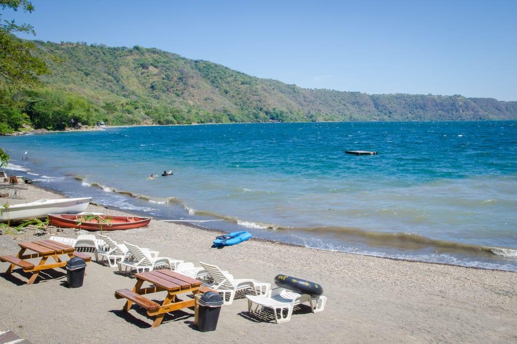 Picnic Time Chairs Escaping to Laguna de Apoyo | Adventurous Kate