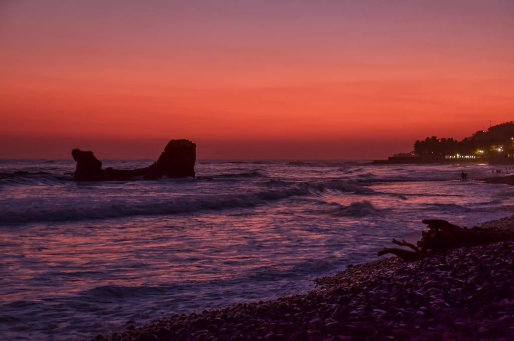 Sunset El Tunco, El Salvador